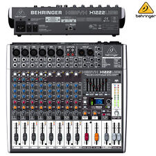 Behringer Xenyx X1222USB Premium 16-Input USB Audio Interface Mixer l Brand New