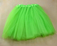 New Girls Women Elastic Stretchy Tulle Dress Teen 3 Layer Adult Tutu Skirt Cute