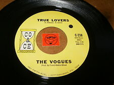 THE VOGUES - TRUE LOVERS - THE LAND OF MILK AND   - LISTEN - DOO WOP POPCORN