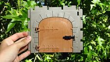 Playmobil Medieval Castle 3666 /3667 Large Wall Barn Door w/ latch