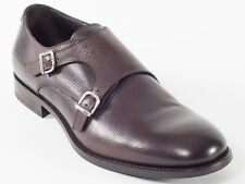 New Baldinini  Dark Brown Leather Shoes Size 43.5 US 10.5