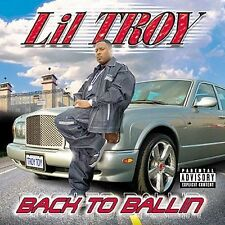 Lil' Troy: Back to Ballin Explicit Lyrics Audio Cassette
