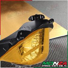 Oro Material Reflectante Adhesivo Calor Escudo para BMW G450 X G650 GS