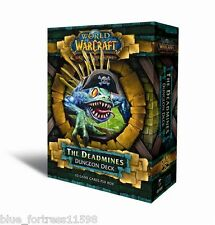 WoW TCG DUNGEON DECK THE DEADMINES INCLUDING 2 HERO CARDS, RULEBOOK, NEW