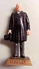 "William McKinley MARX ""Taiwan"" made US President # 25 painted figure 2.75"" 1960s"