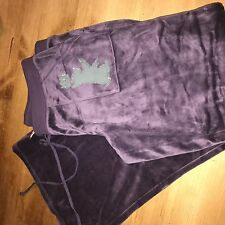 brand new without tags juicy couture valour trousers purple  large rrp$100