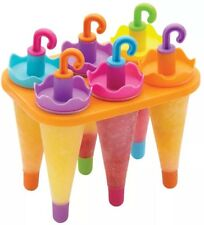 Kitchen Craft HOMEMADE OMBRELLO Ice Lolly creatore muffa con supporto
