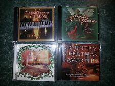 CHRISTMAS CDs; 1 LOT of 4 Different NEW Cello Wrapped  Music CDs  Lot # 1