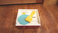 Fisher Price Classic Record Player, 2 Songs on 1 Record Tunes Music