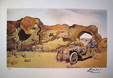 "Salvador Dali Lithograph ""Critical Solitude"" Signed COA Limited Edition Numbered"