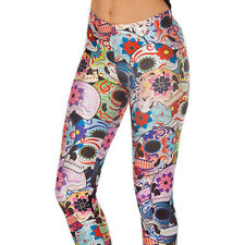 3D Graphic Printed Womens Leggings Fitness Yoga Gym Soprts Tight Pants Trousers