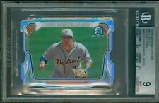 2014 Bowman Chrome Mini Die Cut Refractor /150 Nick Castellanos BGS 9 Sub 10