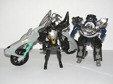 Power Rangers RPM Moto-Morph Road Attack Zord + Racing Performance Black Cycle