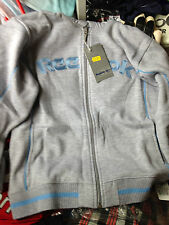 REEBOK LADIES clothing HOODIE in lGREYc in size 16  UKembroided £14