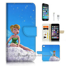 iPhone 7 (4.7') Flip Wallet Case Cover P3240 TinkerBell