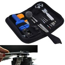 13 PCS Wrist Watch Band Link Pin Remover Case Opener Plier Repair Tools Kit F7