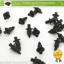 25 Pcs Motorcycle & ATV Fender Rivet Clips Retainer For Yamaha Kawasaki Harley