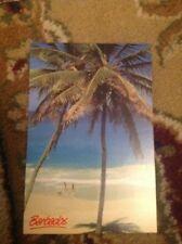 Postcard Barbados Palms Coconut Bottom Bay Stamped Franked Dg20