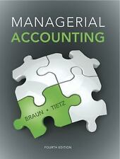 Managerial Accounting by Charles T. Horngren, Wendy M. Tietz, Linda S....