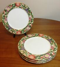 American Atelier Ornaments 5105 Christmas Holiday Dinner Plate Set of 4