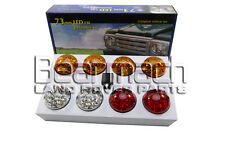 BA-9719 73MM LAND ROVER DEFENDER LED LIGHT LIGHTS COLOURED LAMP UPGRADE KIT