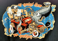 Rat Rod Magazine 'Squid' T-Shirt NEW in Package Size Medium Mens only 1 size