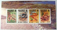 SOLOMON ISLANDS YEAR OF THE SNAKE STAMPS SOUVENIR SHEET CHINESE LUNAR NEW YEAR