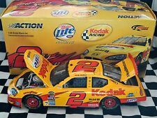 "#2 RUSTY WALLACE, ""KODAK"" 1:24 DIE CAST DODGE CHARGER NASCAR ACTION 2005 NEW"