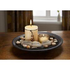 Esencia Candle Set, Home Sweet Home sentimiento Piedras. Living Dormitorio Baño