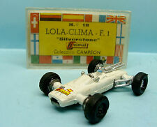 GUISVAL /SETZ /SPAIN /COLLECTION CAMPEON /REF18 LOLA CLIMAX F1 SILVERS N°15 1/64