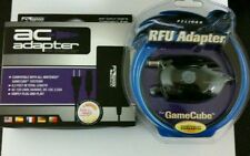 NEW RF RFU TV Cable & AC Power Adapter Cord Set For Nintendo Gamecube Game Cube