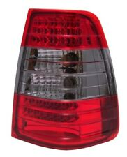Back Rear Tail Lights LED Red-Black Red Pair For Mercedes S124 Estate Wagon