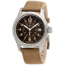 Hamilton Khaki Field Brown Dial Mens Watch H68201993