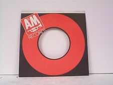 10 1985 A&M RECORD COMPANY 45's SLEEVES  LOT # A-764