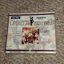 VINTAGE OPERETTE FESTIVAL 4 CD BOX SET SEALED MADE IN HOLLAND GRAFIN MARIZA