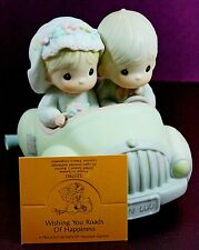 Precious Moments Wishing You Roads Happiness Porcelain Figurine Wedding 520780
