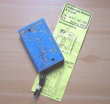 Viessmann 5551 universal relés 4 X para (bistabil) 14-16v ac/dc instrucciones de montaje
