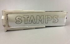 Art Deco Machine Age Chrome STAMPS Sign 1930's Lighted Sign Double Sided