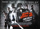 SIN CITY 2 A DAME TO KILL FOR ORIGINAL 2014 QUAD POSTER EVA GREEN MICKY ROURKE