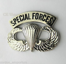 UNITED STATES ARMY SPECIAL FORCES LARGE WINGS LAPEL PIN - 1.5 INCHES