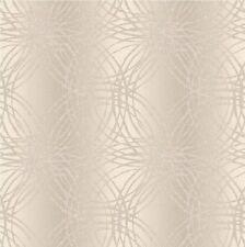 GRANDECO LUXURY GLITTER LEON CIRCLES GEOMETRIC WALLPAPER BOA-015-01-6 TAUPE