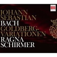 "RAGNA SCHIRMER ""SCHIRMER:GOLDBERG-VARIATIONEN "" 2 CD NEW"