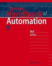 Book Springer Handbook of Automation DVD (2009, Mixed Media) NEW Opened
