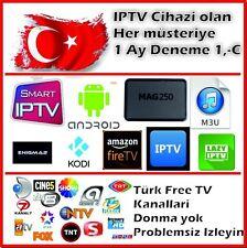 Türkisch IPTV 1 Monat für 1 Euro, für MAG250/254 ,Samsung und LG Smart IPTV Apps