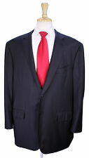 * ISAIA * Napoli Very Recent Solid Charcoal Gray Super 160's Wool 2-Btn Suit 52R