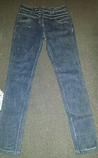size 10 ladies high waisted jeans