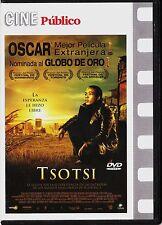 Cine Público: TSOTSI de Gavin Hood. Edición diarios.