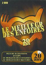 Les Enfoirés : Le meilleur des Enfoirés - 20 ans (2 DVD)