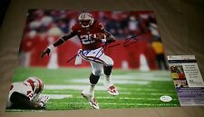 Melvin Gordon Signed 11x14 (Wisconsin Badgers) in person. JSA CERTIFIED