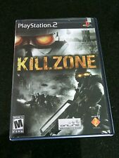 Killzone Sony PlayStation 2 PS2 Complete War Game Mature Blood Violence Gore